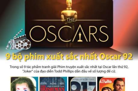 9 bộ phim xuất sắc nhất Oscar 92