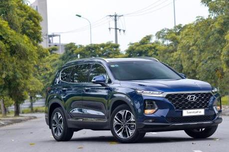 Xếp hạng ô tô SUV 7 chỗ tháng 2/2020: Hyundai SantaFe dẫn đầu bảng