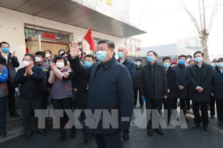 Chủ tịch Trung Quốc thị sát công tác phòng dịch ở Bắc Kinh