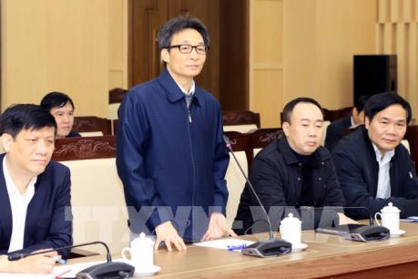 Phó Thủ tướng Vũ Đức Đam làm việc với tỉnh Vĩnh Phúc về công tác phòng chống dịch