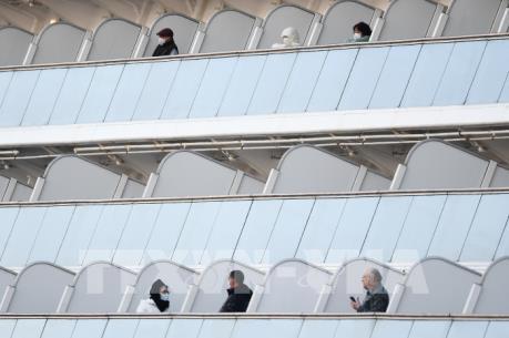 Nhật Bản xác nhận thêm 65 ca nhiễm virus Corona trên tàu Diamond Princess