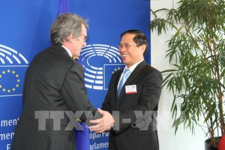 Chủ tịch Nghị viện châu Âu ủng hộ thúc đẩy quan hệ hợp tác toàn diện EU - Việt Nam