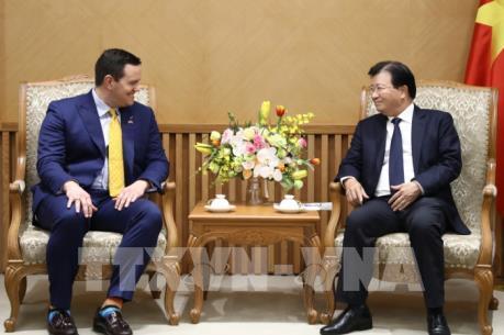 Nhóm các nhà đầu tư Hoa Kỳ - Hàn Quốc quan tâm dự án điện khí LNG tại Việt Nam