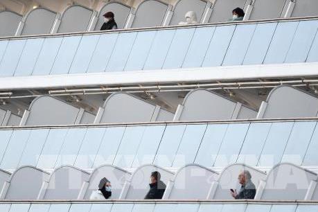 Dịch do virus Corona: Thêm 39 ca nhiễm mới trên tàu Diamond Princess