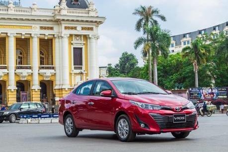 Những sedan hạng B bán nhiều nhất thị trường ô tô Việt Nam