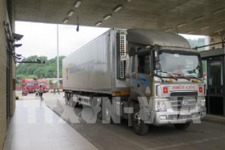 Dịch do virus Corona: Xuất khẩu trên 6.500 tấn nông sản qua cửa khẩu Lào Cai