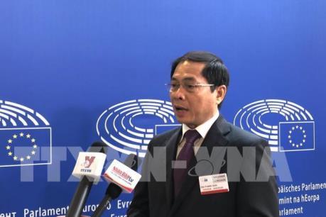 EVFTA và EVIPA quan trọng cả về chiến lược và kinh tế trong quan hệ Việt Nam và EU