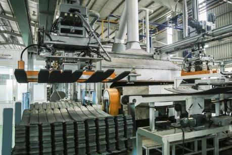 Năm 2020 THACO sẽ xuất khẩu hơn 5.100 tấn nhíp ô tô