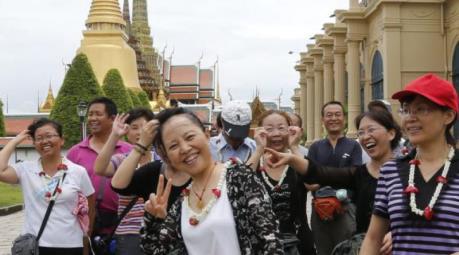 Ngành du lịch Thái Lan đề xuất miễn visa cho khách Trung Quốc