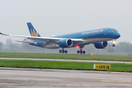 Hãng hàng không Quốc gia Việt Nam đưa hành khách Trung Quốc về nước