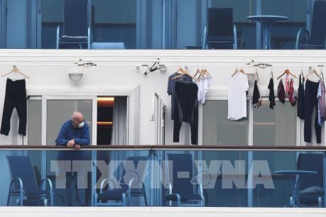 Nhật Bản xác nhận 355 ca nhiễm COVID-19 trên du thuyền Diamond Princess