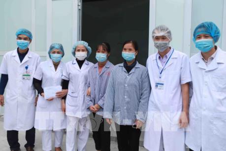 Hai mẹ con nhiễm COVID-19 tại Vĩnh Phúc đã được xuất viện