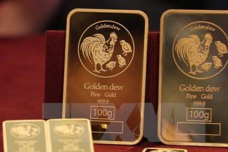 Giá vàng thế giới giảm trong phiên 31/3 khi đồng USD mạnh lên