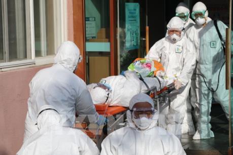 """Dịch COVID-19: Hàn Quốc nâng cảnh báo lên mức """"cao nhất"""""""