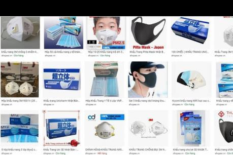 Dịch COVID-19: Xử lý 5.200 gian hàng với trên 21.000 sản phẩm vi phạm