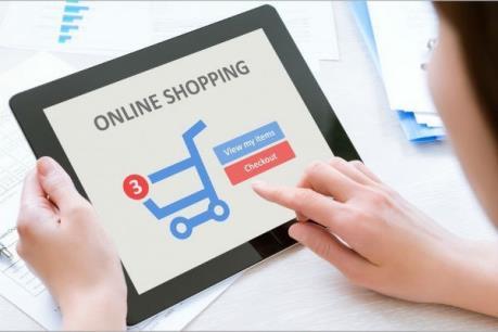 Dịch COVID-19 thúc đẩy doanh số bán trực tuyến tại Mỹ