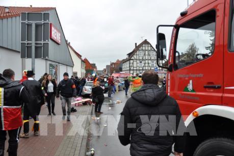 Vụ lao xe vào đám đông ở Đức là hành động có chủ ý