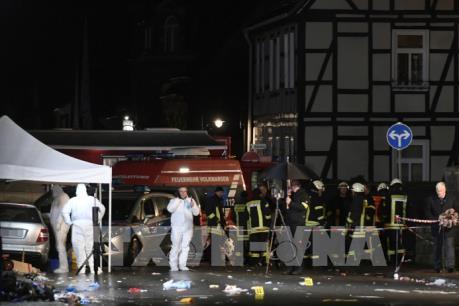 Vụ lao xe ở Đức: Các công tố viên đưa ra cáo buộc giết người đối với tài xế
