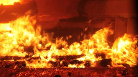 Cháy chợ của người Việt ở Cheb gần biên giới với Đức