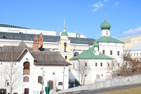Khám phá vẻ đẹp những công trình kiến trúc ở thủ đô Moskva (Nga)