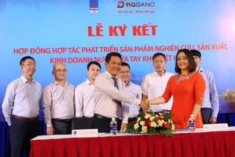Dịch COVID-19: VPI hợp tác với HQGANO sản xuất nước rửa tay khô diệt khuẩn