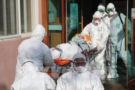 Dịch COVID-19: Hàn Quốc xác nhận 1.261 người nhiễm virus SARS-CoV-2