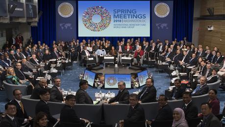 Dịch COVID-19: IMF và WB cân nhắc đổi hình thức họp các hội nghị mùa Xuân