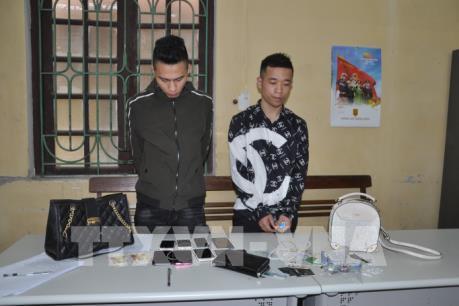 Bắt giữ hai đối tượng gây ra hàng loạt vụ cướp giật tại thành phố Hải Dương