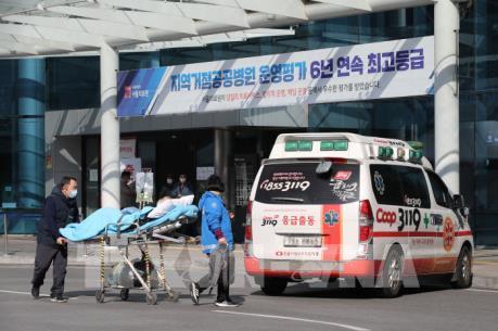 Số ca nhiễm SARS-CoV-2 tại Hàn Quốc vượt 2.000 người