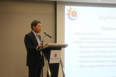 Năm Chủ tịch ASEAN: Việt Nam chủ động thúc đẩy đoàn kết ASEAN