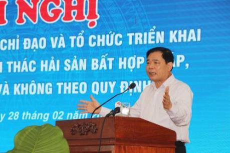 Bộ trưởng Nguyễn Xuân Cường: Xây dựng cảng cá, khu neo đậu theo quy chuẩn