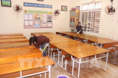Quảng Ninh sẵn sàng đón học sinh trở lại trường học