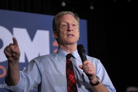Bầu cử Mỹ 2020: Tỷ phú Tom Steyer rút khỏi cuộc đua vào Nhà Trắng