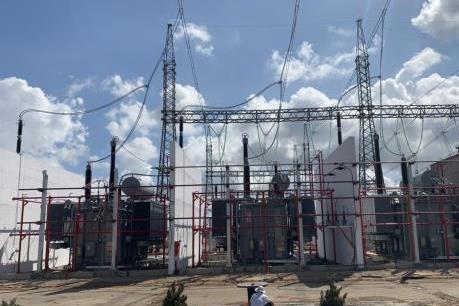 Đóng điện dự án nâng công suất trạm biến áp 500 kV Dốc Sỏi giai đoạn 1