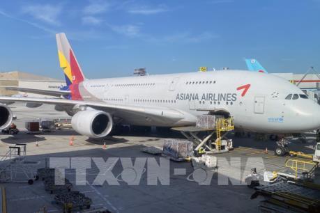"""Asiana Airlines cắt giảm chi phí để vượt """"bão"""" dịch COVID-19"""
