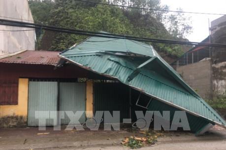 Yên Bái: Mưa đá và dông lốc gây thiệt hại gần 3 tỉ đồng