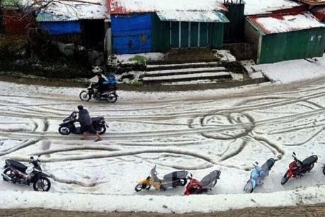 Mưa đá, dông lốc gây nhiều thiệt hại tại Lai Châu