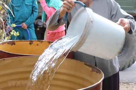 Trà Vinh: Hơn 4.600 hộ dân đang thiếu nước ngọt sinh hoạt