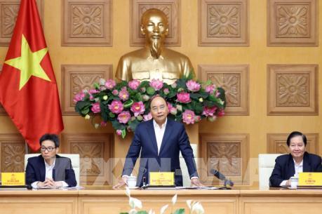 Thủ tướng Nguyễn Xuân Phúc chủ trì họp Hội đồng lương quốc gia