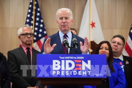 Bầu cử Mỹ 2020: Ứng cử viên Joe Biden nối dài chuỗi thành tích chiến thắng