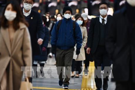 Dịch COVID-19: Nhật Bản kêu gọi người dân hạn chế tụ tập trong lễ hội hoa anh đào