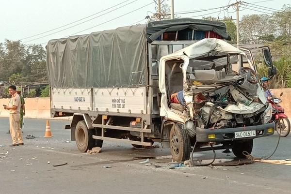 Tai nạn nghiêm trọng tại Bình Phước làm 3 người thương vong