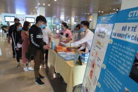 Dịch COVID-19: Cảng hàng không quốc tế Cần Thơ đã đón 1.868 khách từ vùng dịch