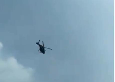 Rơi máy bay trực thăng chở các nhà ngoại giao nước ngoài ở Myanmar