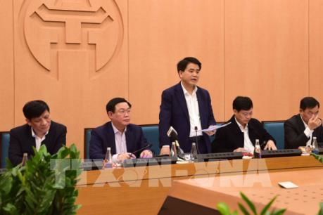 Thông tin chi tiết cuộc họp khẩn của Hà Nội về ca thứ 17 mắc COVID-19