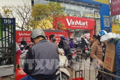 Hệ thống VinMart, Big C đảm bảo nguồn cung hàng hóa