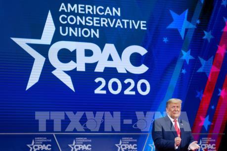 Dịch COVID-19: Mỹ xác nhận một ca nhiễm đã tham gia hội nghị Tổng thống Trump dự