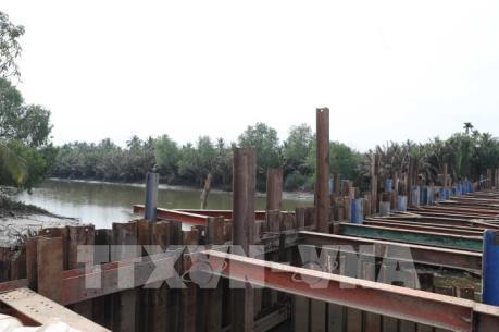 Xâm nhập mặn ở đồng bằng sông Cửu Long tăng trở lại