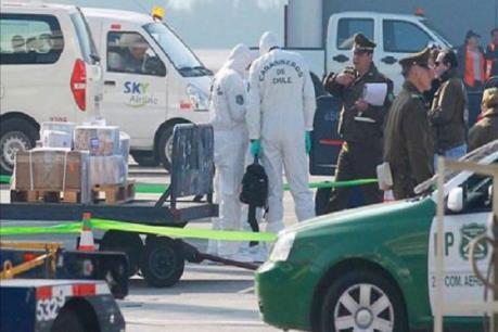 Cướp 15 triệu USD tại sân bay Chile