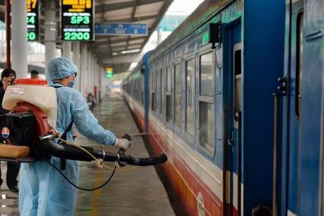 Dịch COVID-19: Ngành đường sắt yêu cầu rà soát nơi có khả năng lây nhiễm cao